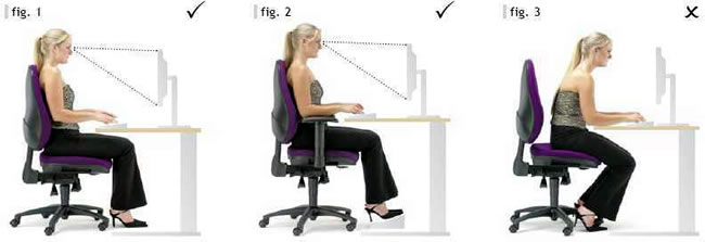 sitting correctly - supplies direct
